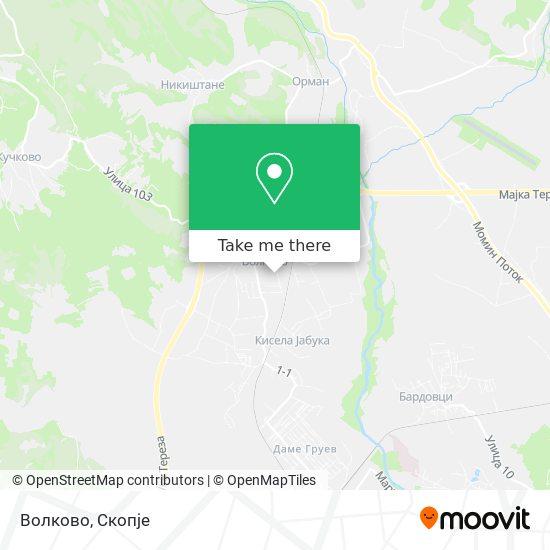 Волково map