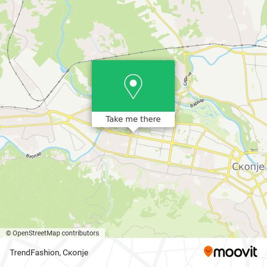 TrendFashion map