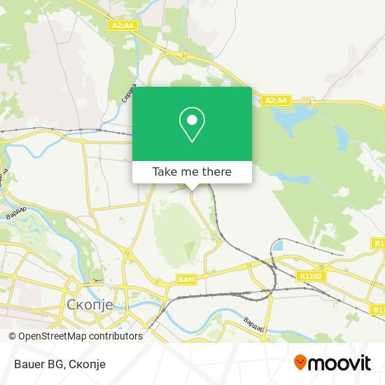 Bauer BG map
