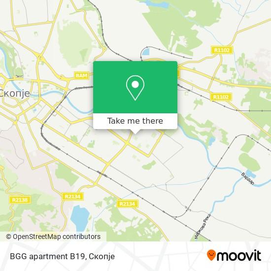 BGG apartment B19 map