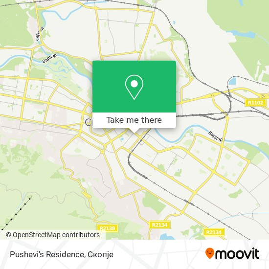 Pushevi's Residence map
