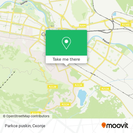 Parkce puskin map
