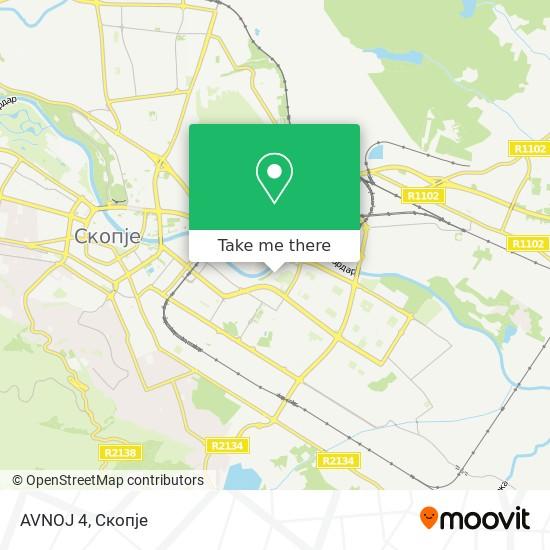 AVNOJ 4 map