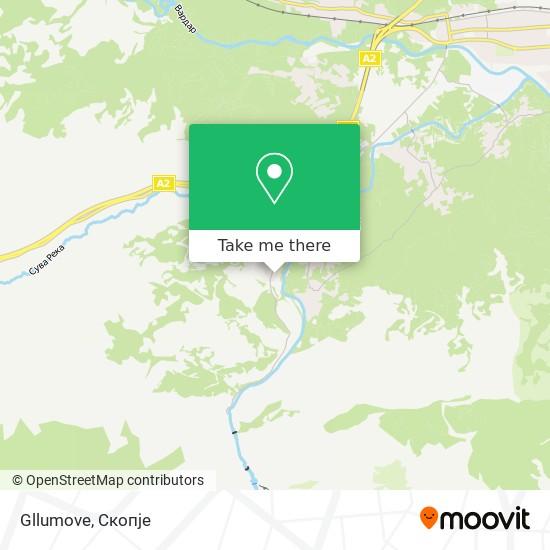 Gllumove map