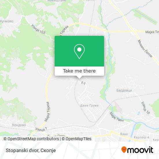 Stopanski dvor map
