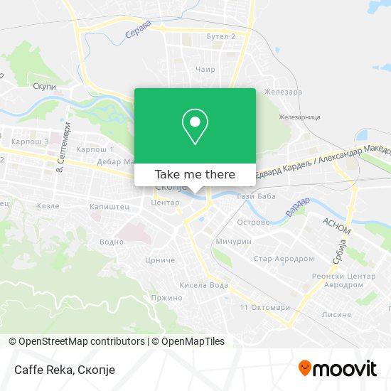 Caffe Reka map