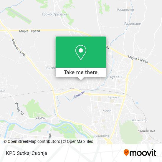 KPD Sutka map