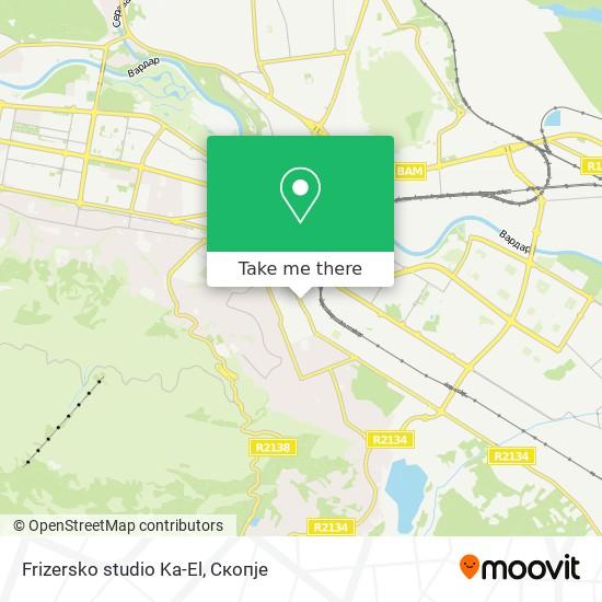 Frizersko studio Ka-El map
