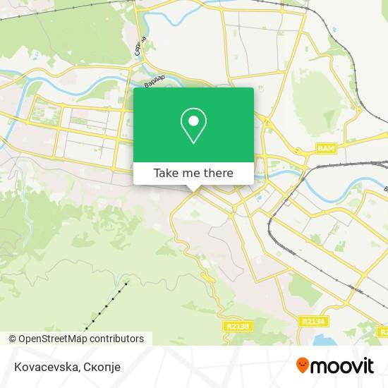 Kovacevska map