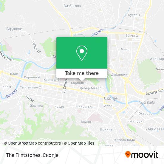 The Flintstones map