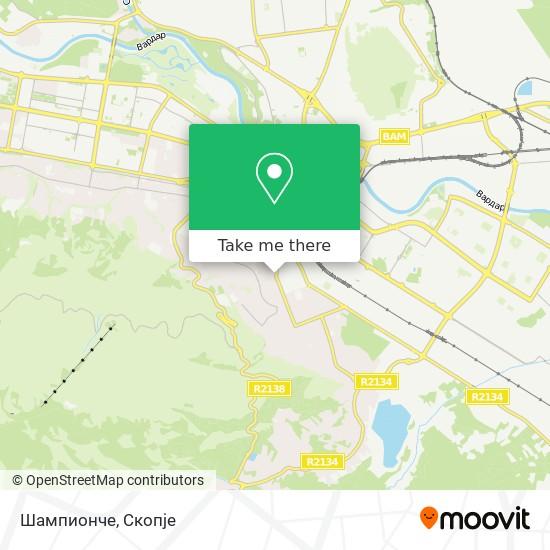 Шампионче map
