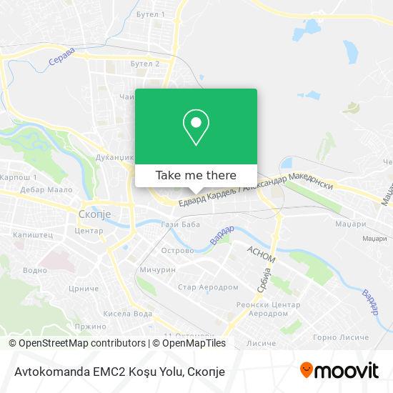 Avtokomanda EMC2 Koşu Yolu map
