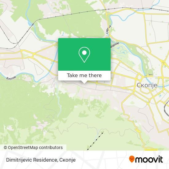 Dimitrijevic Residence map