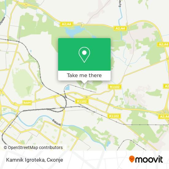 Kamnik Igroteka map