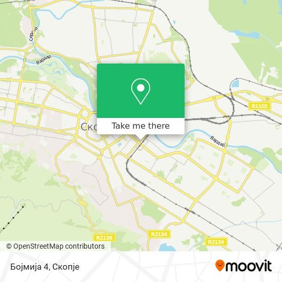 Бојмија 4 map