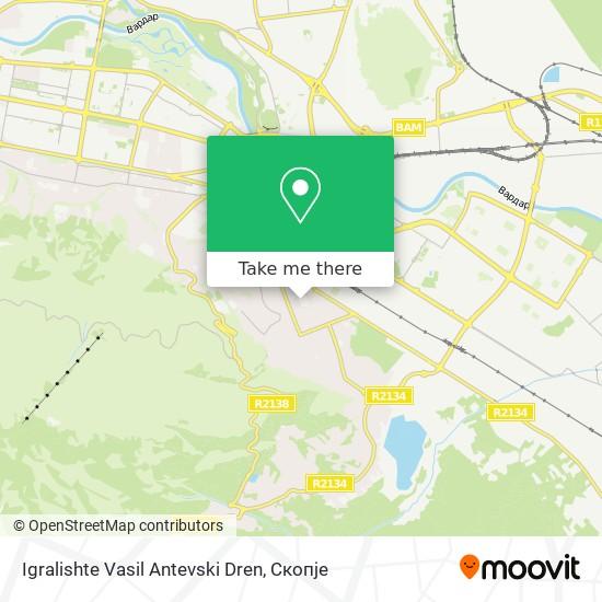 Igralishte Vasil Antevski Dren map