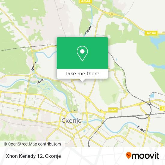 Xhon Kenedy 12 map