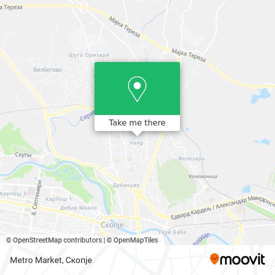 Metro Market map