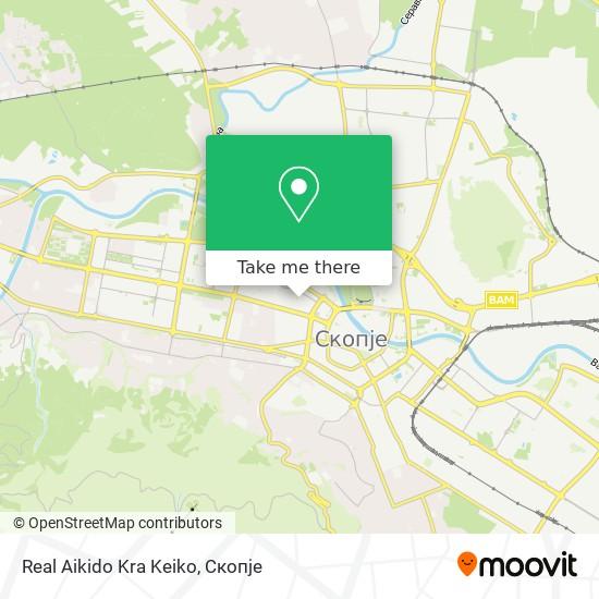 Real Aikido Kra Keiko map