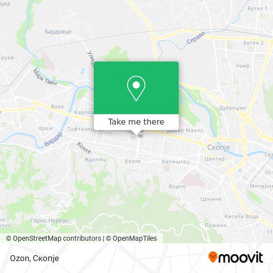 Ozon map