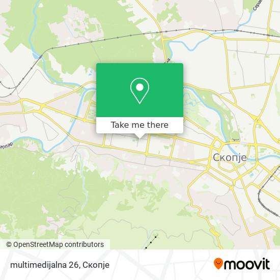 multimedijalna 26 map