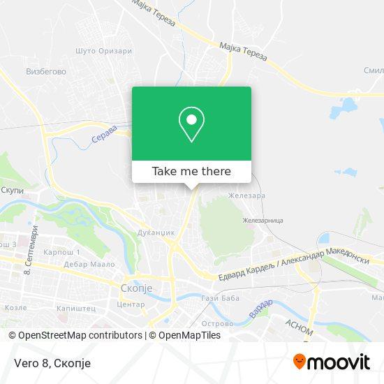 Vero 8 map