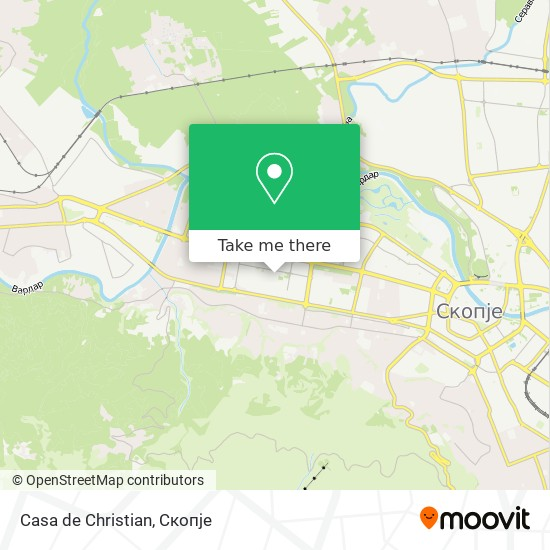 Casa de Christian map
