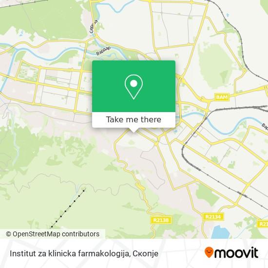 Institut za klinicka farmakologija map