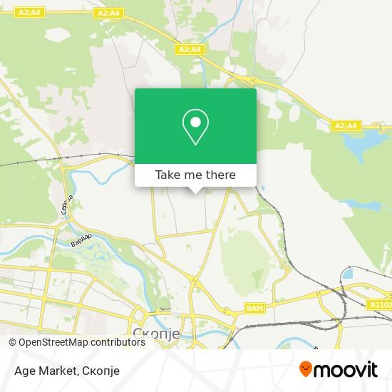 Age Market map