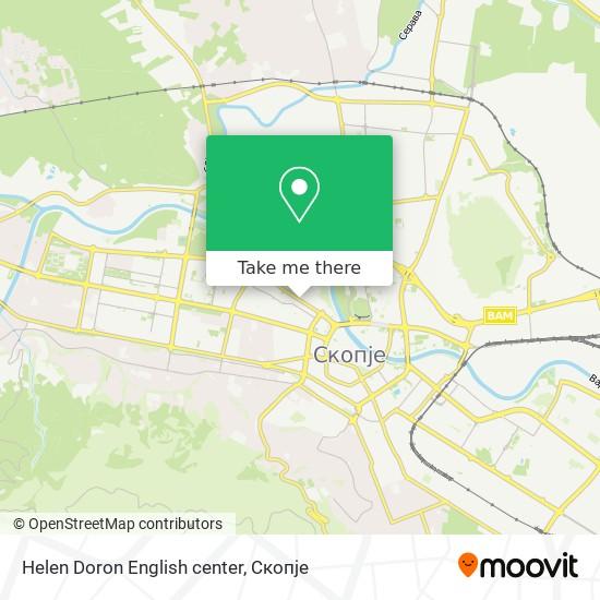 Helen Doron English center map