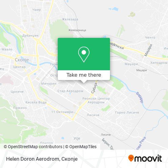 Helen Doron Aerodrom map
