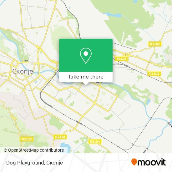 Dog Playground map
