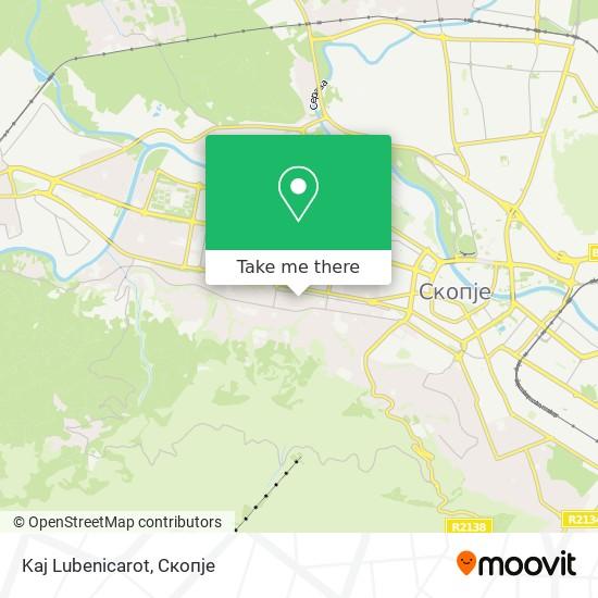Kaj Lubenicarot map