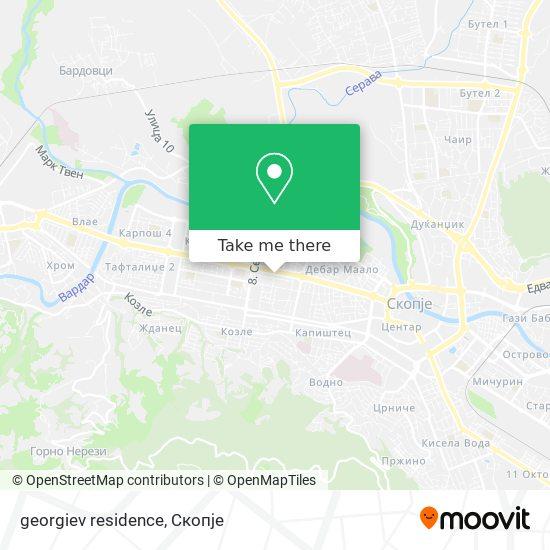georgiev residence map