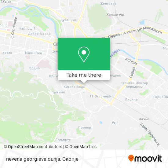 nevena georgieva dunja map