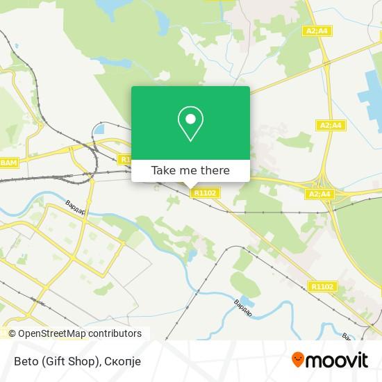 Beto (Gift Shop) map