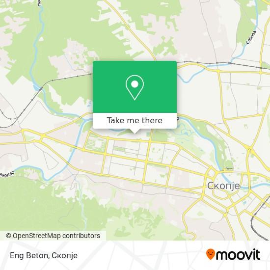 Eng Beton map