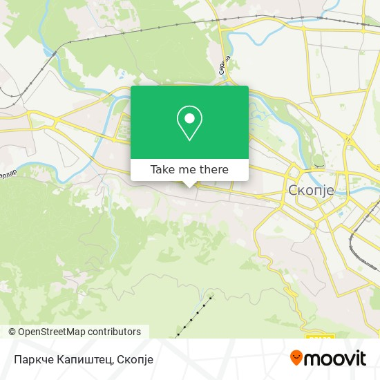 Паркче Капиштец map