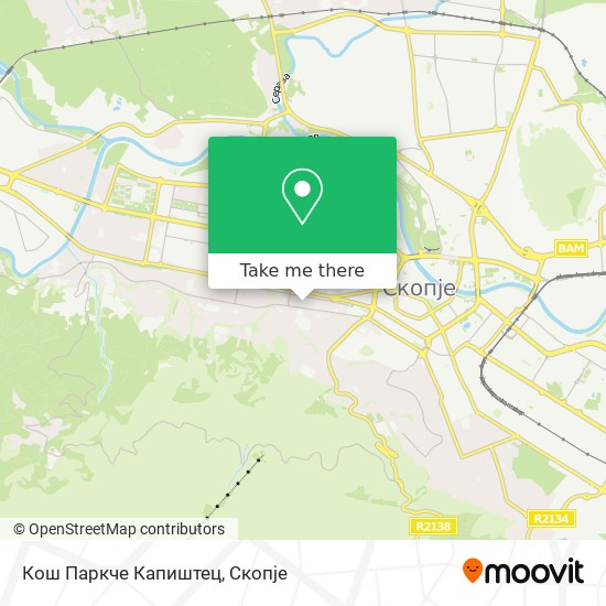 Кош Паркче Капиштец map