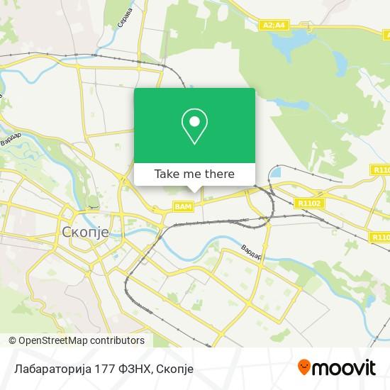 Лабараторија 177 ФЗНХ map