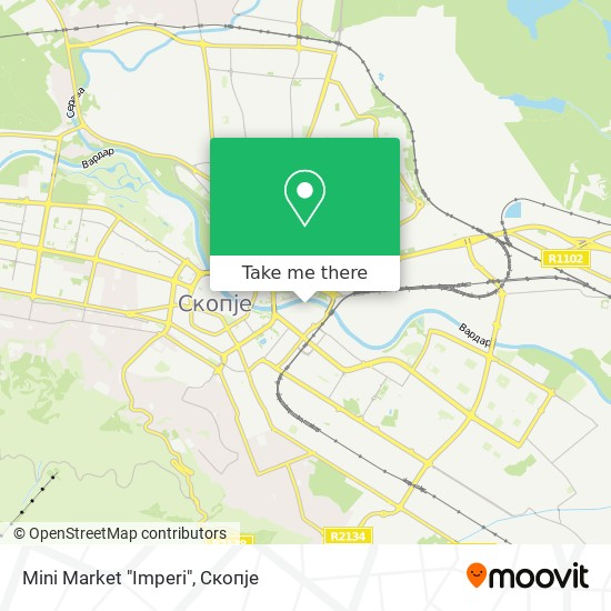 "Mini Market ""Imperi"" map"