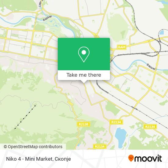 Niko 4 - Mini Market map