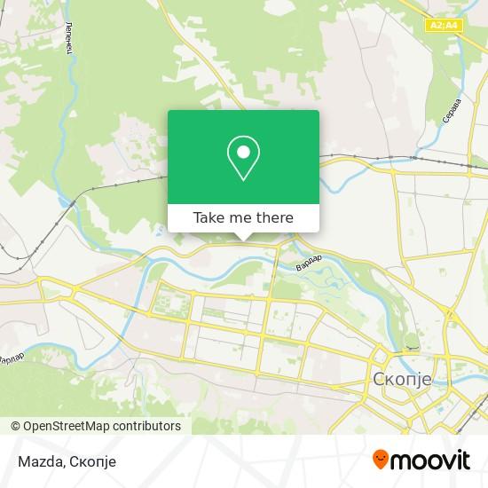 Mazda map