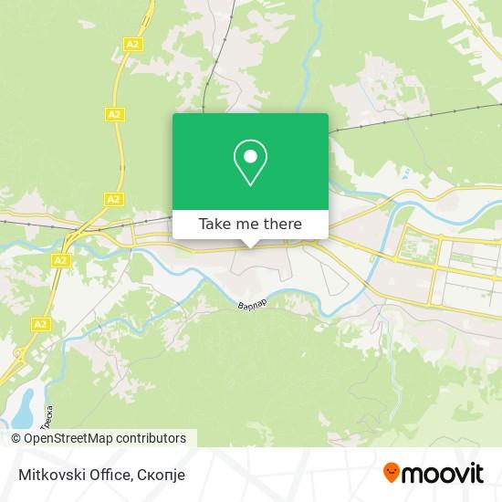 Mitkovski Office map