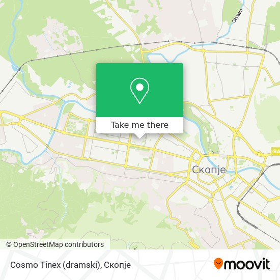 Cosmo Tinex (dramski) map