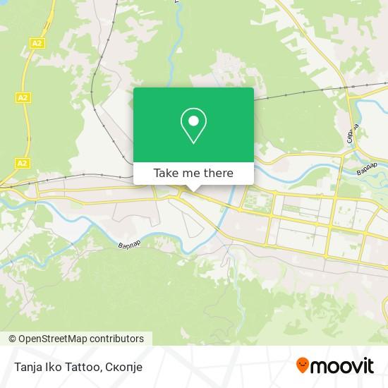 Tanja Iko Tattoo map