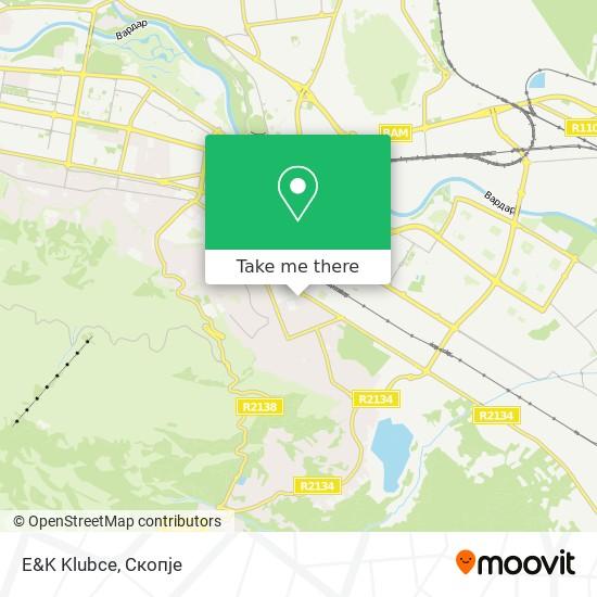 E&K Klubce map