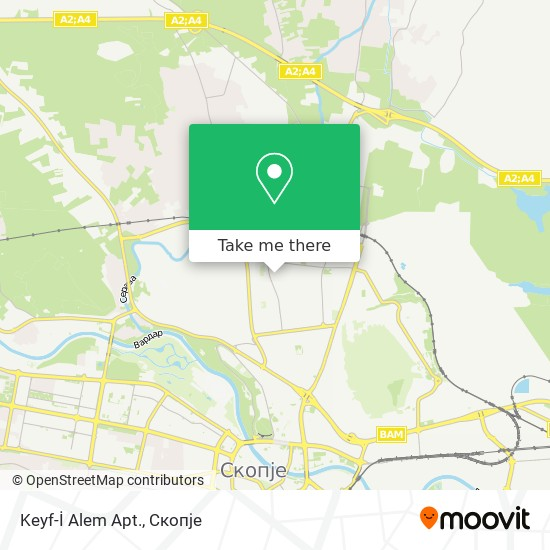 Keyf-İ Alem Apt. map