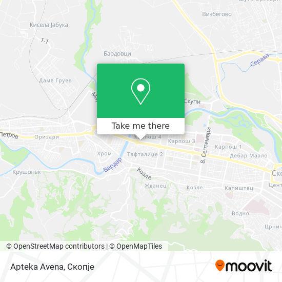 Apteka Avena map