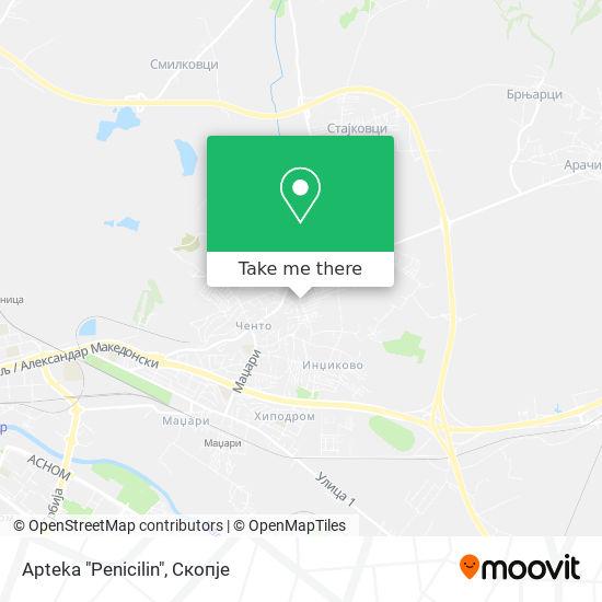 "Apteka ""Penicilin"" map"